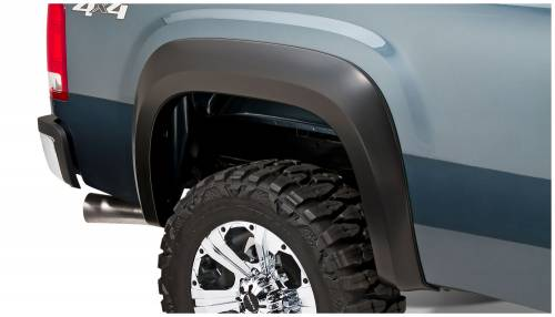 Bushwacker - Bushwacker Fender Flares,GMC (2007-13) 1500Rear Pair (Extend-A-Fender Flare)