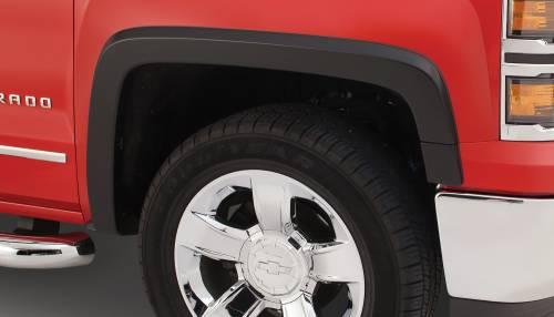 Bushwacker - Bushwacker Fender Flares,Chevy (2014)1500 (2015) 2500/3500 Front Pair (OE Style)