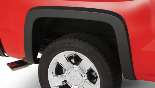 Bushwacker - Bushwacker Fender Flares,Chevy (2014) 1500 (2015) 2500/3500 Rear Pair(OE Style)