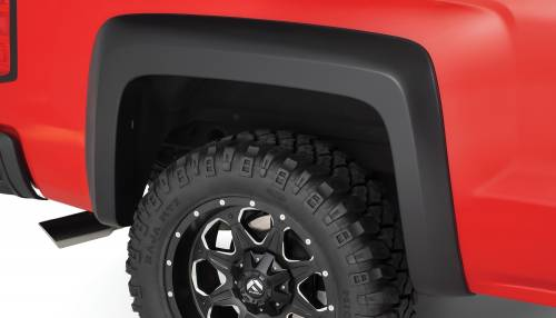 Bushwacker - Bushwacker Fender Flares,Chevy (2014) 1500 Rear Pair(Extend-A-Fender Flare)