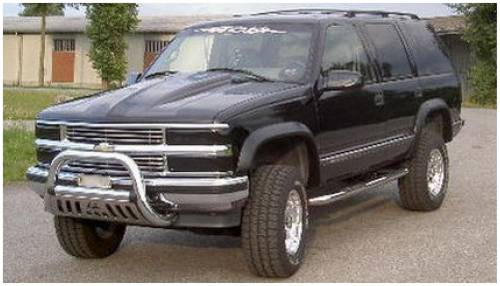 Bushwacker - Bushwacker Fender Flares,Chevy / GMC (1995-99) Yukon/Tahoe Set of 4(Extend-A-Fender Flare)