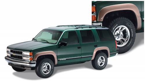 Bushwacker - Bushwacker Fender Flares,Chevy/GMC (1995-99) Yukon/Tahoe Set of 4(OE Style)