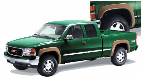 Bushwacker - Bushwacker Fender Flares,Chevy / GMC (1999-07) 1500/2500 (2001-07) 3500 Set of 4(Extend-A-Fender Flare)
