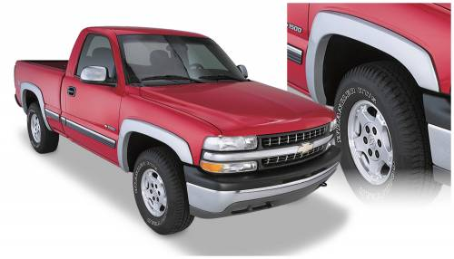 Bushwacker - Bushwacker Fender Flares,Chevy/GMC (1999-07) 1500/2500 (2001-07) 3500 Set of 4(OE Style)