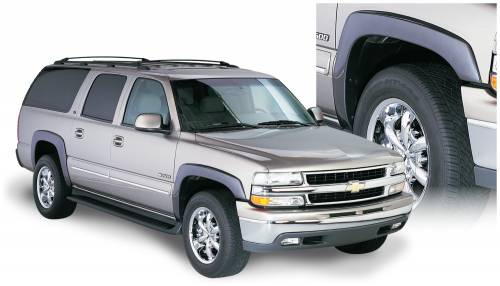 Bushwacker - Bushwacker Fender Flares,Chevy/GMC (2000-06) Suburban (2003-06) Yukon Set of 4(OE Style)