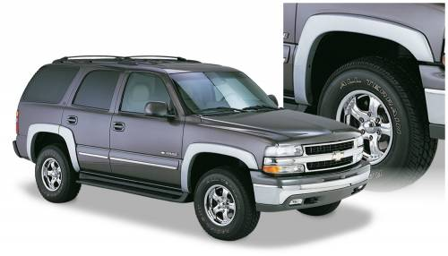 Bushwacker - Bushwacker Fender Flares,Chevy (2000-06) Tahoe Set of 4(OE Style)