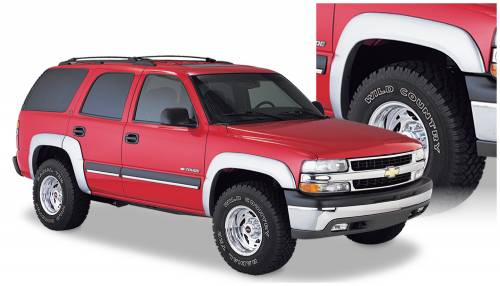 Bushwacker - Bushwacker Fender Flares,Chevy (2000-06) Tahoe Set of 4(Extend-A-Fender Flare)