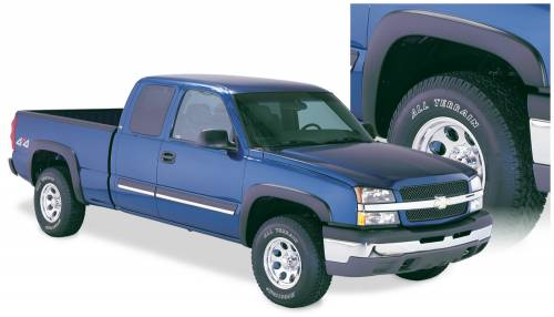 Bushwacker - Bushwacker Fender Flares,Chevy (2003-07) 1500/2500/3500 Set of 4(OE Style)