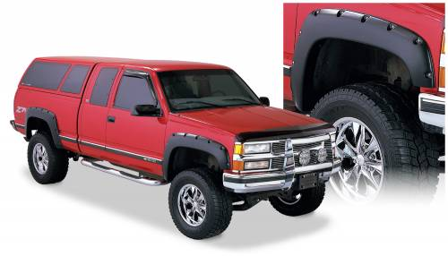 Bushwacker - Bushwacker Fender Flares,Chevy / GMC (1988-99) 1500 (1988-00) 2500 (1992-00) 3500 Fender Flare Set of 4 (Pocket Style)