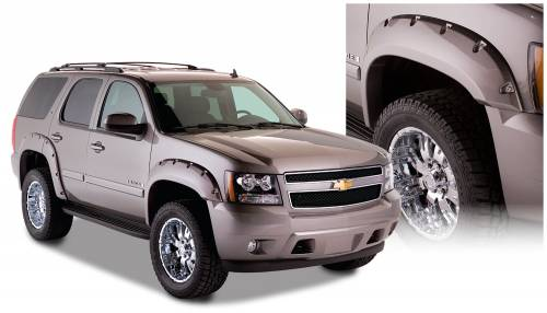 Bushwacker - Bushwacker Fender Flares,Chevy (2007-14) Tahoe Fender Flare Set of 4 (Pocket Style)