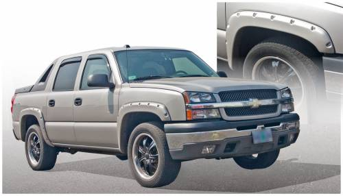 Bushwacker - Bushwacker Fender Flares,Chevy (2003-06) 1500/2500 Fender Flare Set of 4 (Pocket Style)