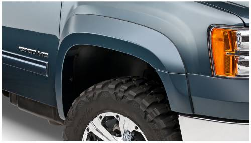 Bushwacker - Bushwacker Fender Flares,GMC (2007-13) 1500 Set of 4(Extend-A-Fender Flare)