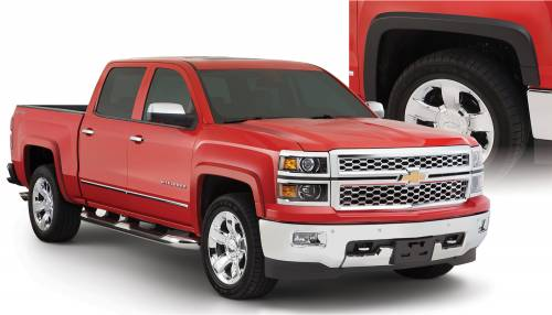 Bushwacker - Bushwacker Fender Flares,Chevy (2014-15) 1500 (2015) 2500/3500 Set of 4(OE Style)