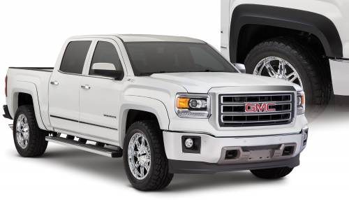 Bushwacker - Bushwacker Fender Flares,GMC (2014-15) 1500 Set of 4(Extend-A-Fender Flare)