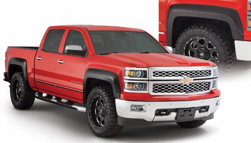 Bushwacker - Bushwacker Fender Flares,Chevy (2014-15) 1500 Set of 4(Extend-A-Fender Flare)