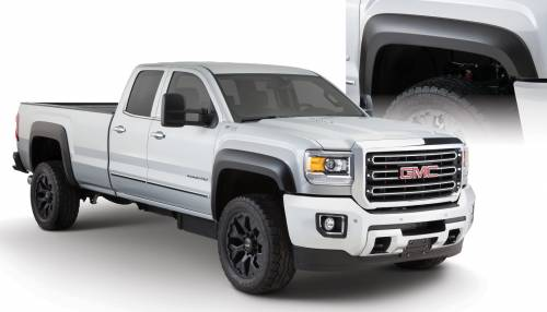 Bushwacker - Bushwacker Fender Flares,GMC (2015) 2500/3500 Set of 4(Extend-A-Fender Flare)