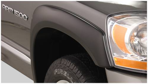 Bushwacker - Bushwacker Fender Flares, Dodge (2006-08) 1500 (2006-09) 2500/3500 Front Pair(OE Style)