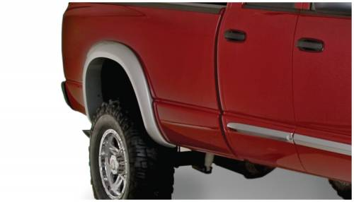 Bushwacker - Bushwacker Fender Flares,Dodge (2006-08) 1500 (2006-09) 2500/3500 Rear Pair(Extend-A-Fender Flare)