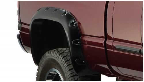 Bushwacker - Bushwacker Fender Flares,Dodge (1994-01) 1500 (1994-02) 2500/3500 Fender Flare Rear Pair (Pocket Style)
