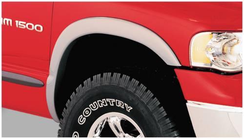 Bushwacker - Bushwacker Fender Flares, Dodge (2002-08) 1500 (2003-09) 2500/3500 Front Pair Only (Street Flare)