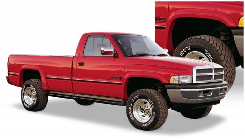 Bushwacker - Bushwacker Fender Flares,Dodge (1994-01) 1500 (1994-02) 2500/3500 Set of 4(Extend-A-Fender Flare)