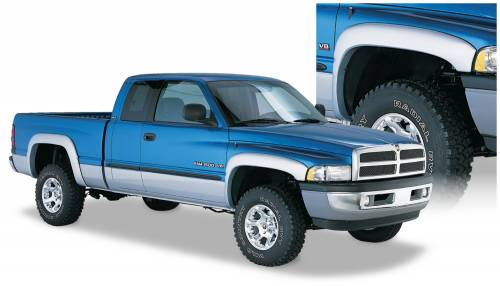 Bushwacker - Bushwacker Fender Flares,Dodge (1994-01) 1500 (1994-02) 2500/3500 Set of 4(OE Style)