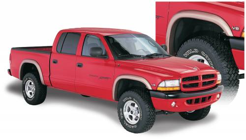 Bushwacker - Bushwacker Fender Flares,Dodge (1997-04) Dakota Set of 4(Extend-A-Fender Flare)