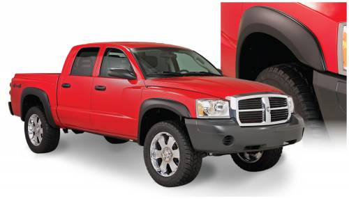 Bushwacker - Bushwacker Fender Flares,Dodge (2005-11) Dakota Set of 4(Extend-A-Fender Flare)