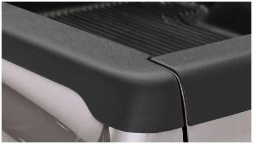 Bushwacker - Bushwacker Ultimate Bed Rail Cap Dodge (2002-08) 1500 (2003-09) 2500/3500 Smoothback OE Matte Black