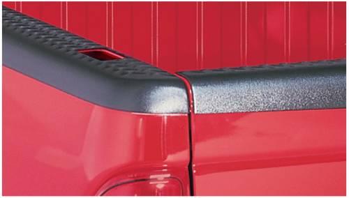 Bushwacker - Bushwacker Ultimate Bed Rail Cap Dodge (1994-01) 1500 (1995-02) 2500 Diamondback OE Matte Black