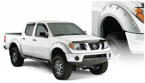Bushwacker - Bushwacker Fender Flares,Nissan Boss (2005-12) Frontier Fender FlareSet of 4(Pocket Style)