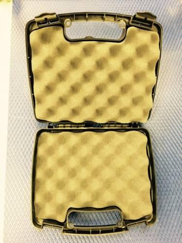 "Diamond T Enterprises - Tool Storage Case, 10.875"" x 9"" x 3.25"" Black (with Egg Crate Foam)"