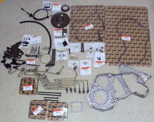 """Scheid Diesel - Scheid Diesel P-Pump Conversion Kit, Dodge (1998.5-02) 5.9L 24V Cummins, 0.120"""" stainless steel (P7100 PUMP NOT INCLUDED)"""