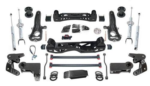 "Pro Comp - Pro Comp Suspension Kit, Dodge (2014-15) 1500 Diesel, 6"" Lift, Stage 1 (front shocks: Pro Runner SS, rear shocks: Pro Runner)"