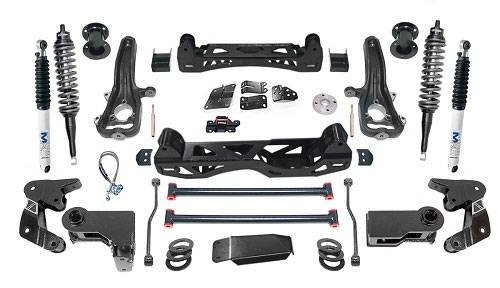 "Pro Comp - Pro Comp Suspension Kit, Dodge (2014-15) 1500 Diesel, 6"" Lift, Stage 2 (front shocks: MX2.7, rear shocks: MX6)"