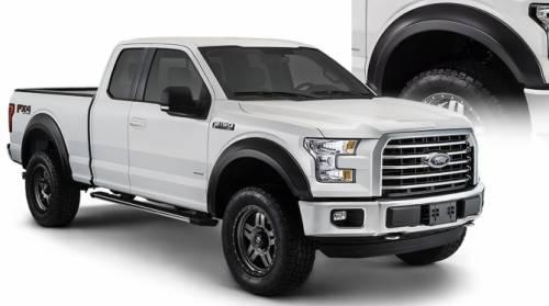 Bushwacker - Bushwacker Fender Flares,Ford (2015) F-150 Set of 4(Extend-A-Fender Flare)