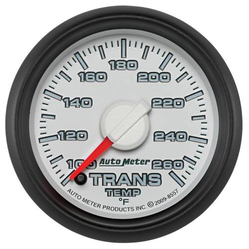 Autometer - Auto Meter Dodge 3rd GEN Factory Match, Transmission Temp (8557), 100-260*