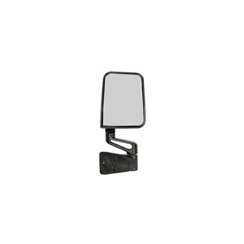 Rugged Ridge - Rugged Ridge Door Mirror, Black, Right Side (1987-02) Jeep Wrangler