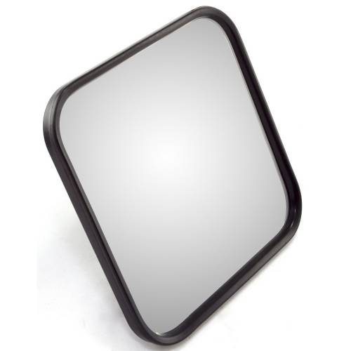 Omix-ADA - Narrow Mirror Head, Black; 55-86 Jeep CJ Models