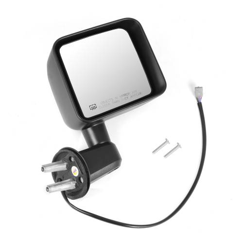 Omix-ADA - Heated Power Mirror, Right, Black; 11-15 Jeep Wrangler JK