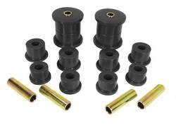 Rugged Ridge - Rear Leaf Spring Bushing Kit, Black; 84-01 Jeep Cherokee XJ