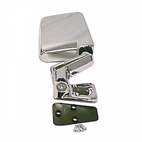Rugged Ridge - Rugged Ridge Door Mirror, Chrome, Right (1987-02) Jeep Wrangler