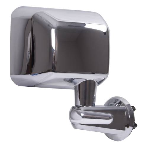 Rugged Ridge - Rugged Ridge Door Mirror, Chrome, Right (2007-15) Jeep Wrangler JK