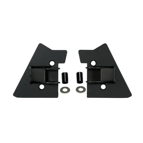 Rugged Ridge - Mirror Relocation Brackets, Black; 97-02 Jeep Wrangler TJ