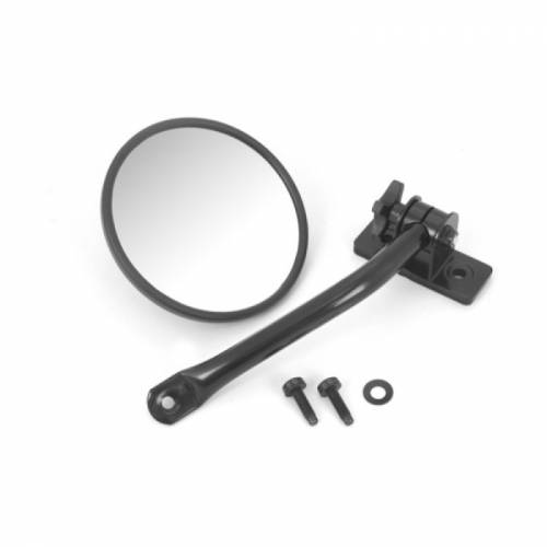 Rugged Ridge - Quick Release Mirror Relo Kit (ea), Black; 97-15 Jeep Wrangler