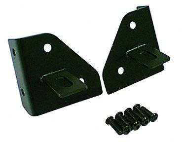 Rugged Ridge - Rugged Ridge Windshield Light Mounting Brackets (1976-95) Jeep CJ/Wrangler YJ