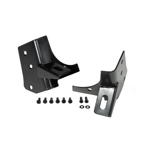 Rugged Ridge - Rugged Ridge Windshield Auxiliary Light Mounting Brackets (1997-06) Jeep Wrangler TJ
