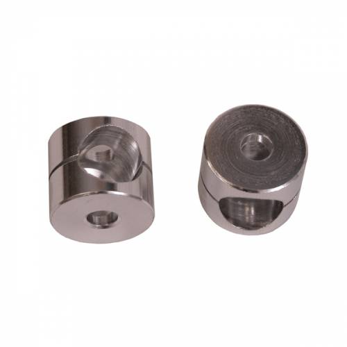 Rugged Ridge - Mirror Arm Bushings, Aluminum; 55-86 Jeep CJ Models
