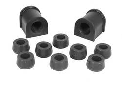 Rugged Ridge - Front Swaybar Bushing Kit, Black, 15/16 Inch; 87-95 Jeep Wrangler YJ