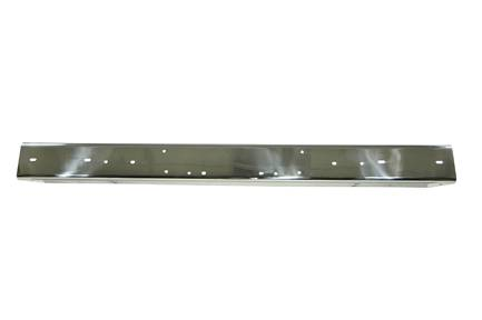 Rugged Ridge - Rugged Ridge Stainless Steel Front Bumper Without Holes (1997-06) Jeep Wrangler TJ